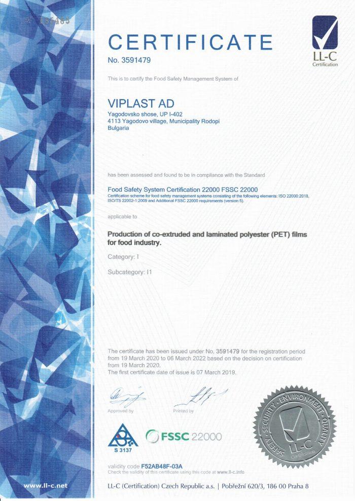 ISO 22000 EN